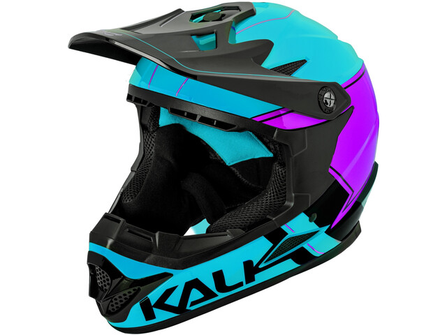 Kali Zoka Casco Hombre, blue/purple/black